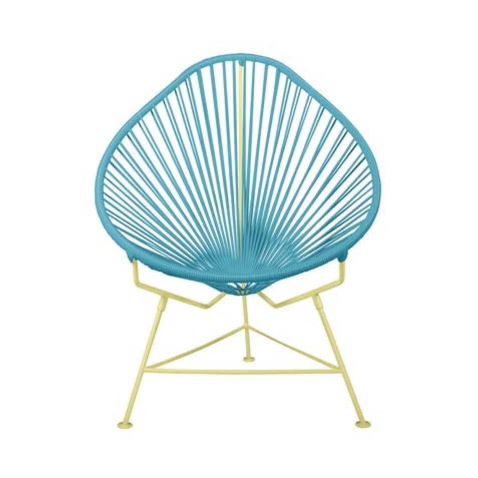 Acapulco Chair - Custom Color on Yellow Frame