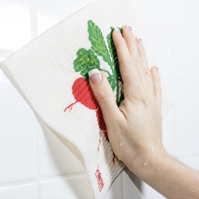 "Wet it! ""Radish"" Swedish Cloth 