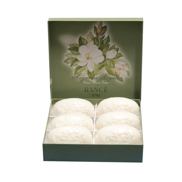"Rance ""The Beautiful"" Soap - Magnolia Royale-Personal Fragrance-RAN-Rance-Gift box - 6 100g Soaps-Putti Fine Furnishings"