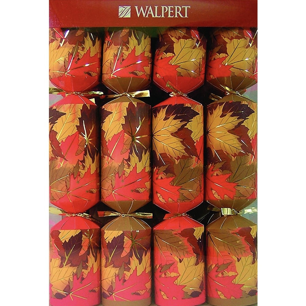 Fall Leaves Thanksgiving Crackers