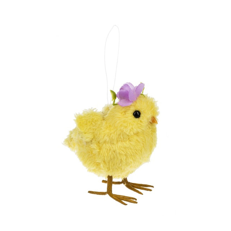 Chick Ornaments with Flowers | Putti Celebrations Canada