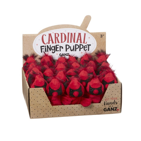 Cardinal Finger Puppets  | Putti Celebrations Canada