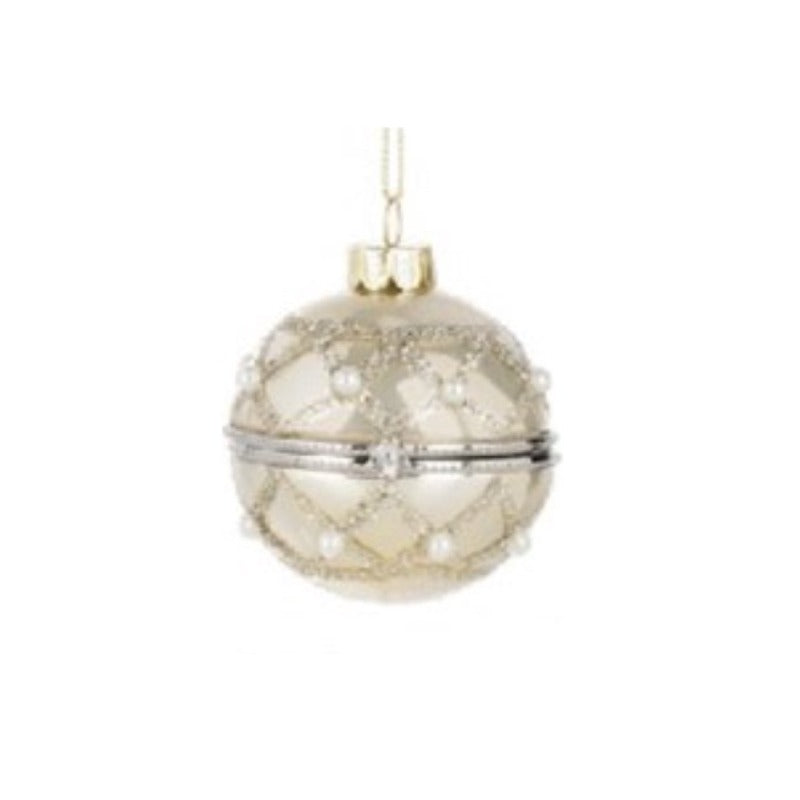 Campagne Shimmer Hinged Box Ornament | Putti Celebrations Canada