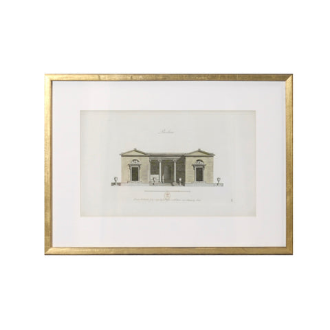 """Pavilion II 1778 "" Framed Print-Artwork-Cel Arts Studio-Putti Fine Furnishings"