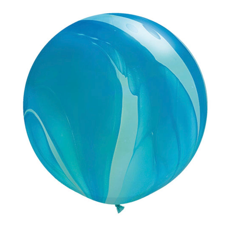 "Giant Round Balloon 30""- Blue Agate, SE-Surprize Enterprize, Putti Fine Furnishings"