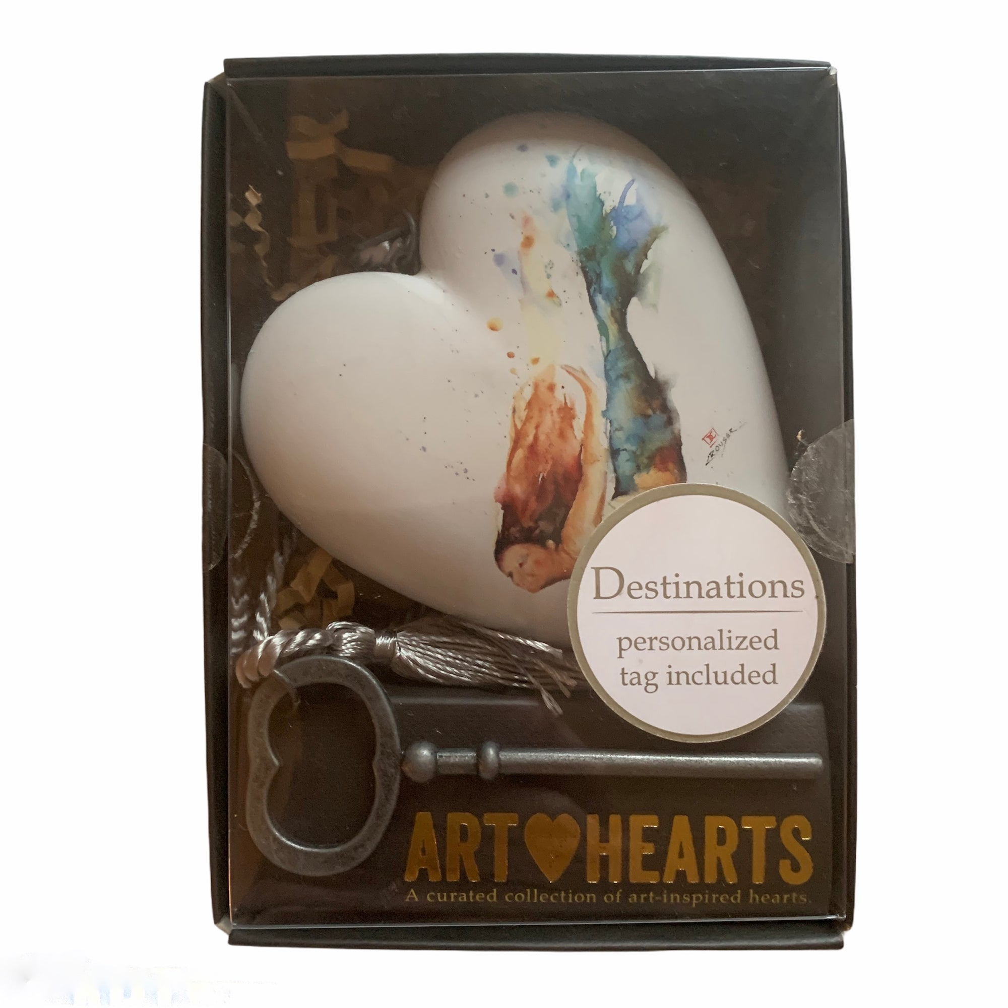 """Mermaid"" Art Heart"