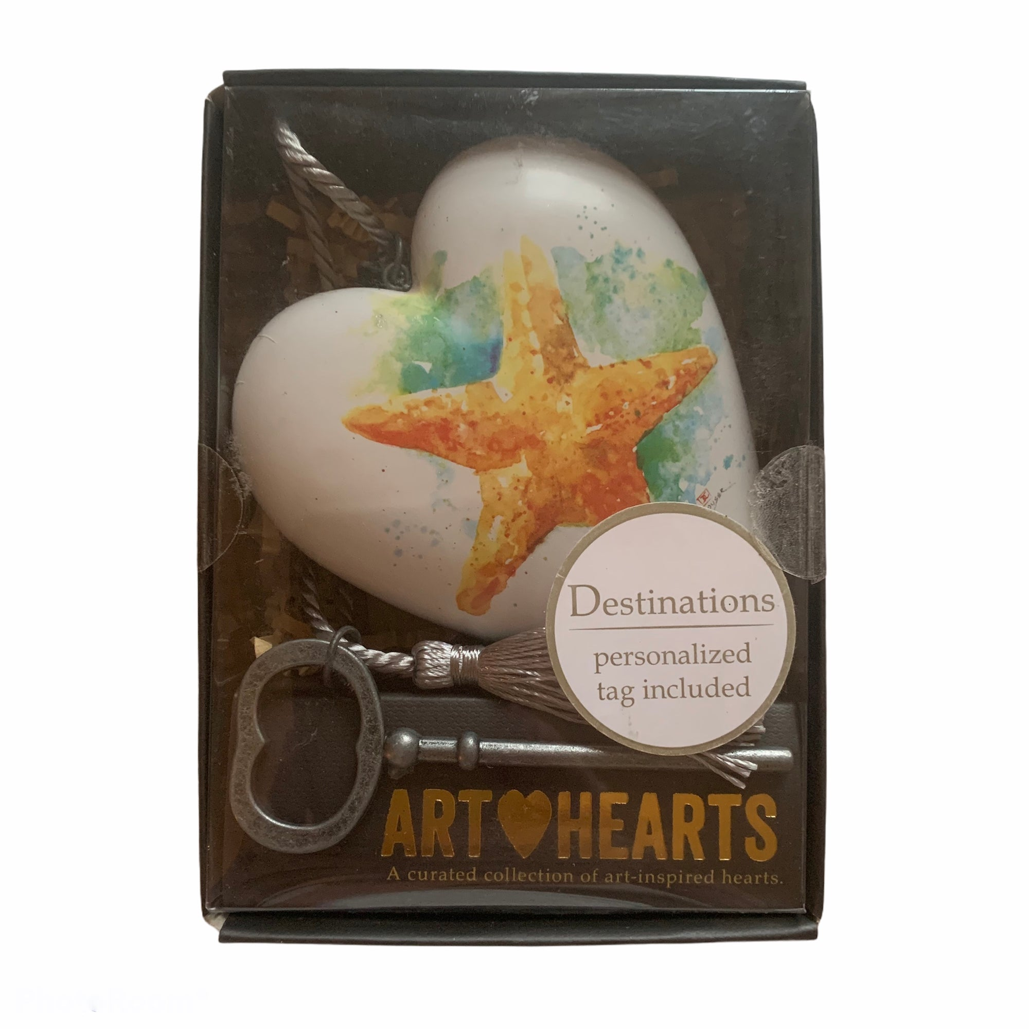 """Starfish"" Art Heart"