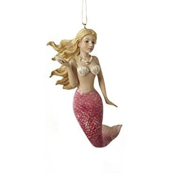 Kurt Adler Resin Mermaid Ornament