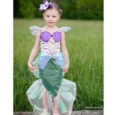 Blue Mermaid Dress Costume, Creative Education, Putti Fine Furnishings