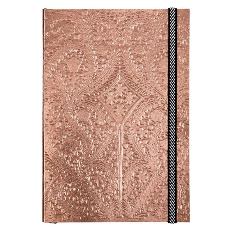 Christian Lacroix Embossed Paseo Notebook - Sunset Copper