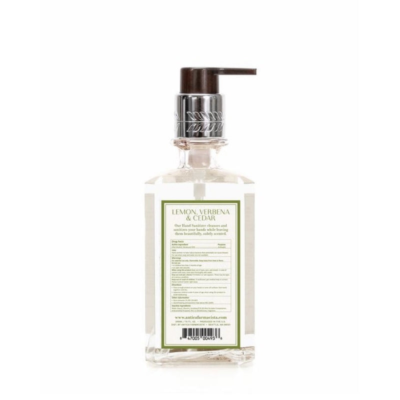 Antica Farmacista Hand Sanitizer - Lemon Verbena & Cedar