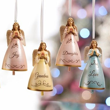 Angel Design Bell Ornament, GC-Gift Craft, Putti Fine Furnishings