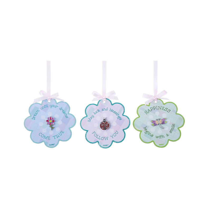 Springtime Jewelry Pins on Flower Cards