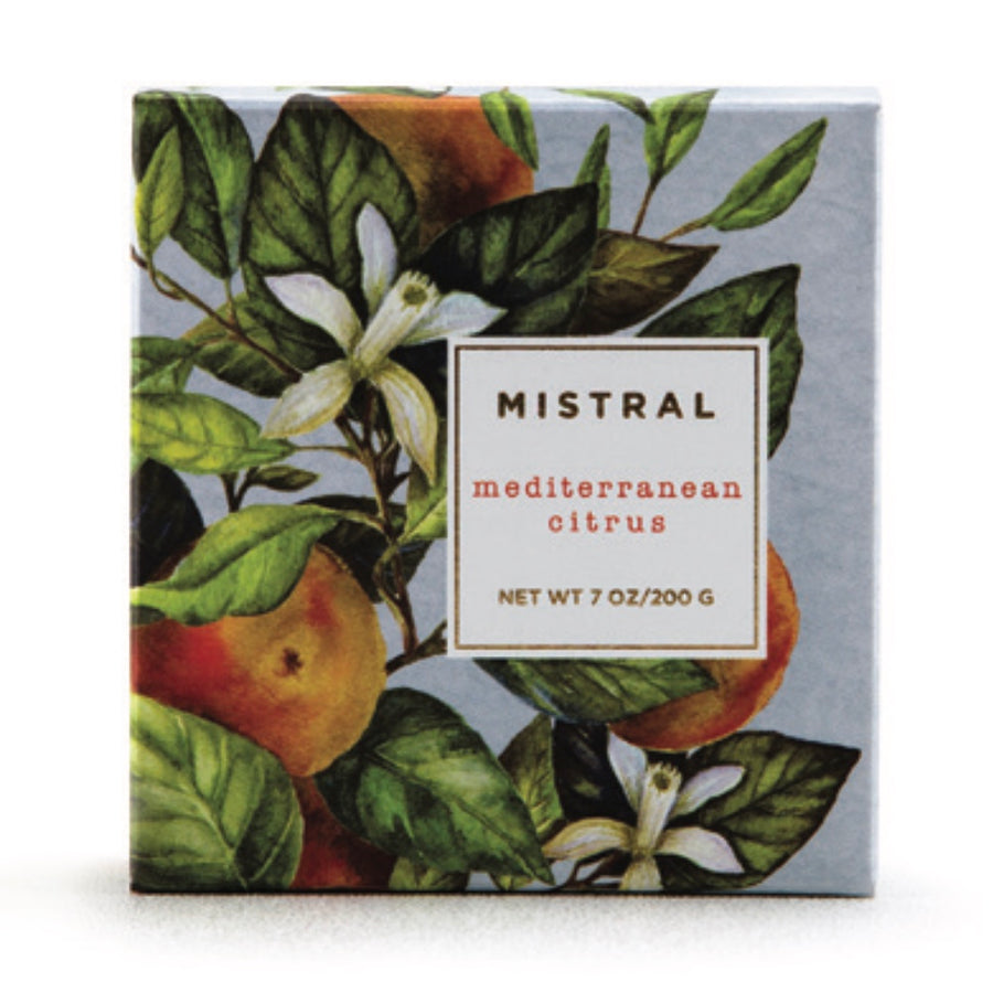 Mistral Limited Edition Holiday Soap - Mediterranean Citrus-Personal Fragrance-Mistral-Putti Fine Furnishings