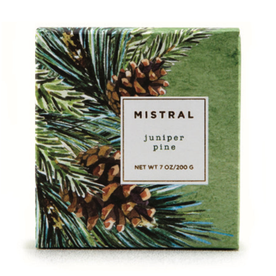 Mistral Limited Edition Holiday Soap - Juniper Pine, ME-M-Mistral, Putti Fine Furnishings