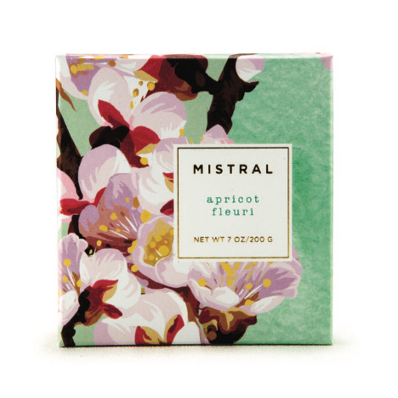 Mistral Floral Collection Soap - Apricot Fleuri
