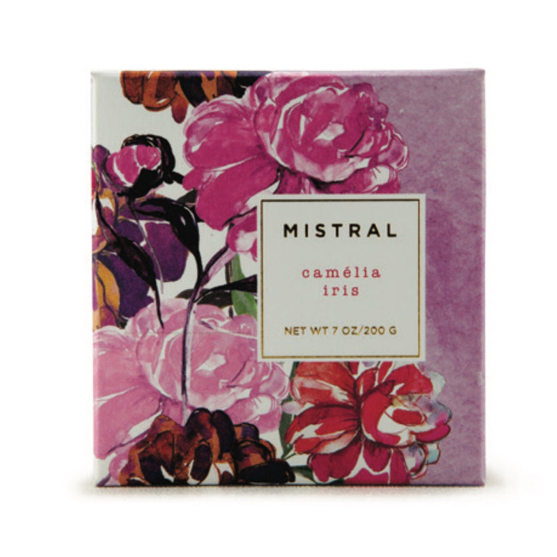 Mistral Floral Collection Soap - Camelia Iris, ME-M-Mistral, Putti Fine Furnishings