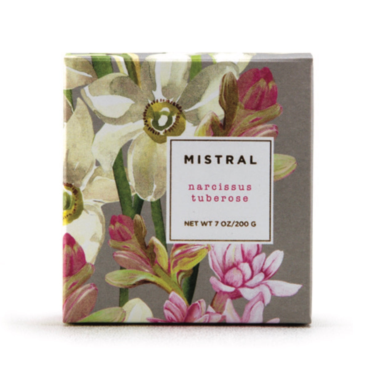 Mistral Floral Collection Soap - Narcissus Tuberose, ME-M-Mistral, Putti Fine Furnishings