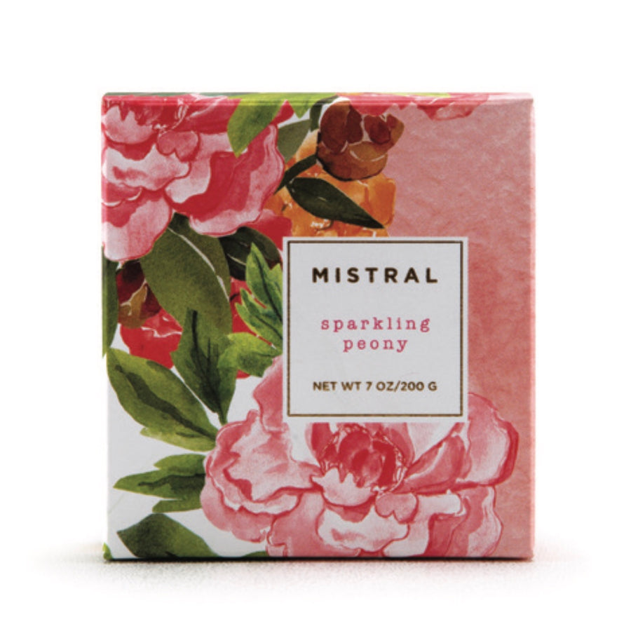 Mistral Floral Collection Soap - Sparkling Peony, ME-M-Mistral, Putti Fine Furnishings