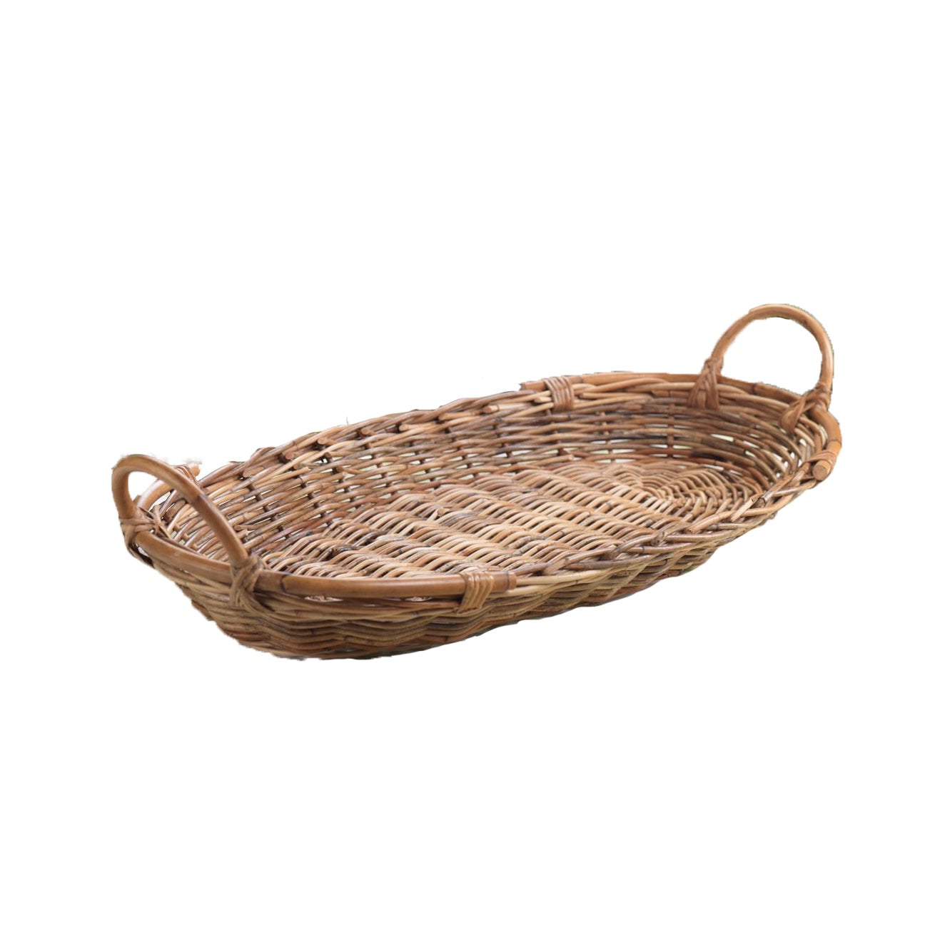 Rattan Oval Tray, ZX-Zodax, Putti Fine Furnishings