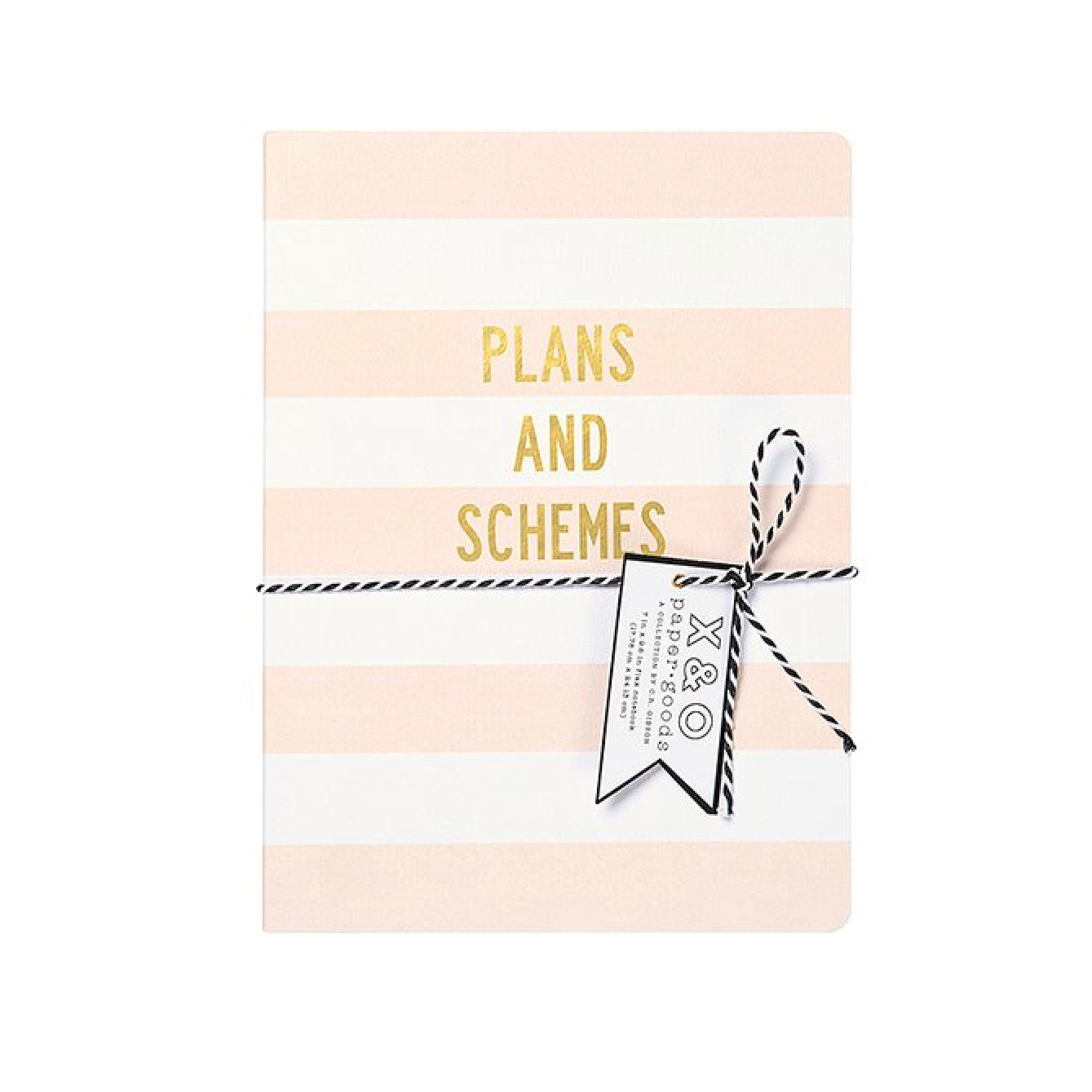 """Plans and Schemes"" Large Flex Journal, CRG-CR Gibson, Putti Fine Furnishings"
