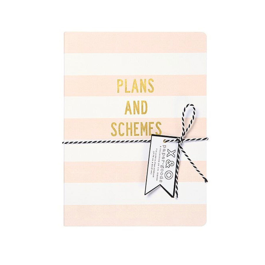 """Plans and Schemes"" Large Flex Journal"