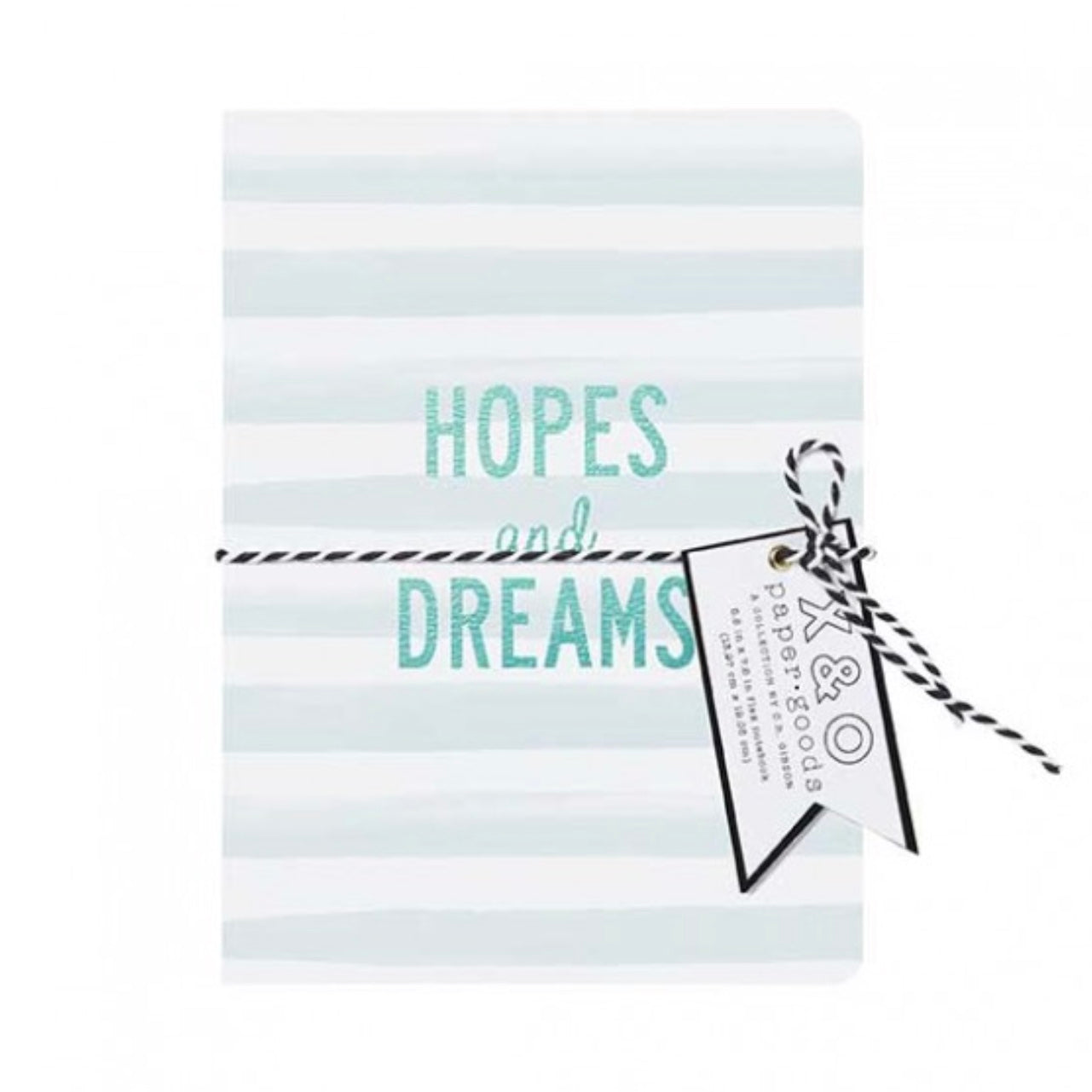 """Hopes and Dreams"" Medium Flex Journal, CRG-CR Gibson, Putti Fine Furnishings"