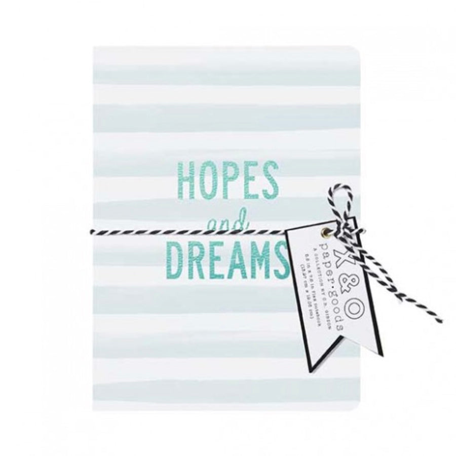 """Hopes and Dreams"" Medium Flex Journal"