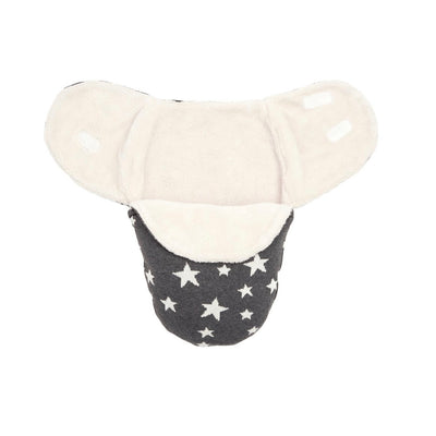 Elegant Baby Charcoal Star Swaddle, EB-Elegant Baby, Putti Fine Furnishings