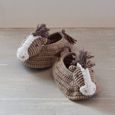 Albetta Crochet Horse Booties, AUK-Albetta UK, Putti Fine Furnishings