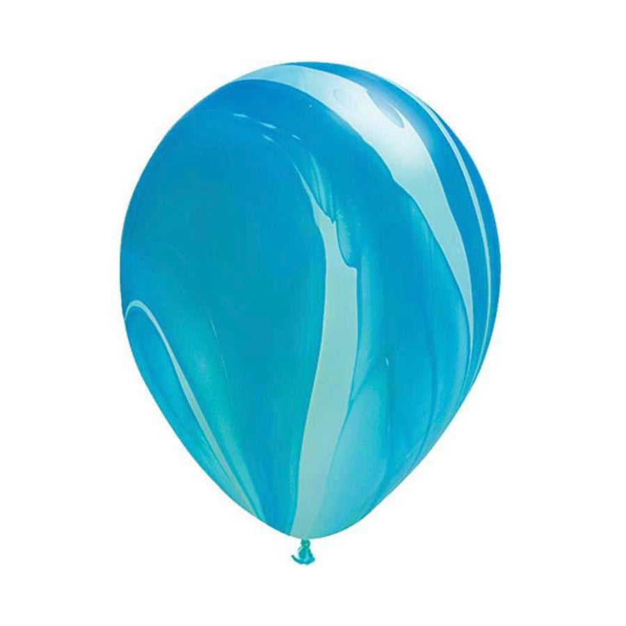 "Blue Agate Balloons 11"", SE-Surprize Enterprize, Putti Fine Furnishings"