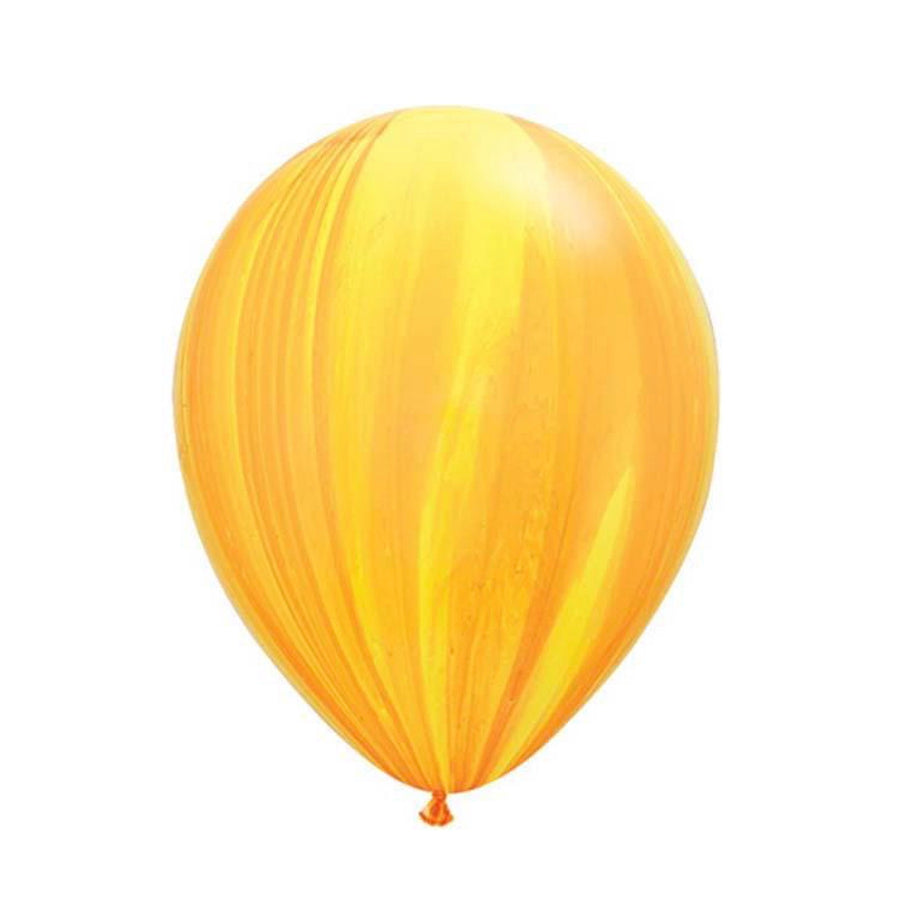 "Yellow Agate Balloons 11"", SE-Surprize Enterprize, Putti Fine Furnishings"