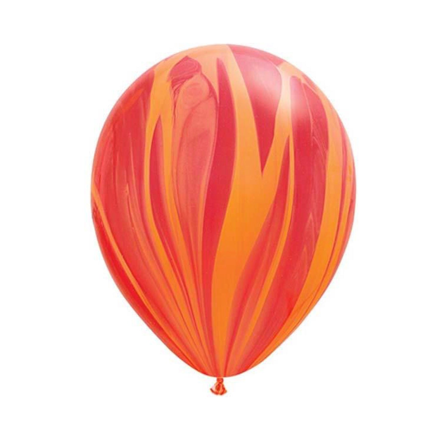 "Red Agate Balloons 11"", SE-Surprize Enterprize, Putti Fine Furnishings"