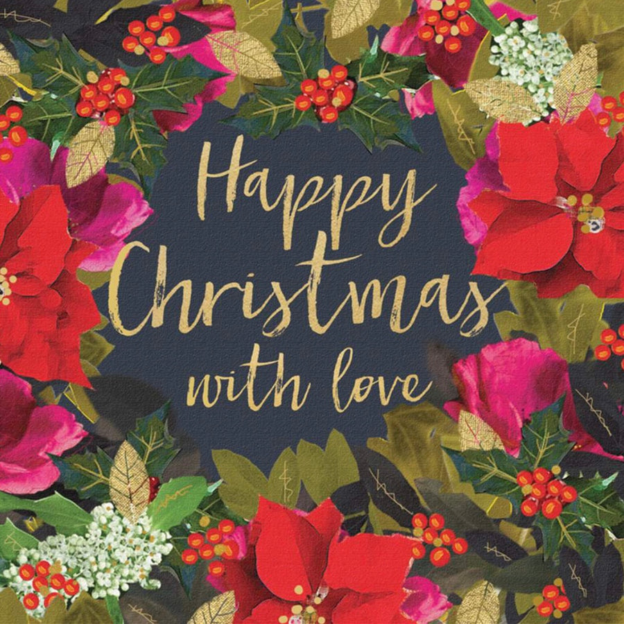 """Merry Christmas with love"" Pack Note Cards, JE-Jannex Enterprises, Putti Fine Furnishings"