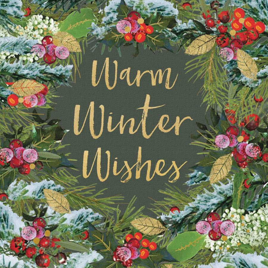 """Warm Winter Wishes"" Pack Note Cards, JE-Jannex Enterprises, Putti Fine Furnishings"
