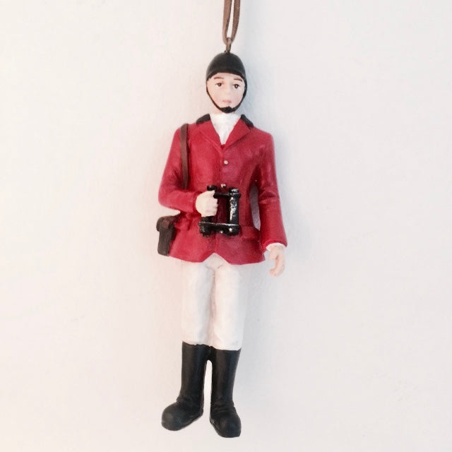 Polo Player Ornament