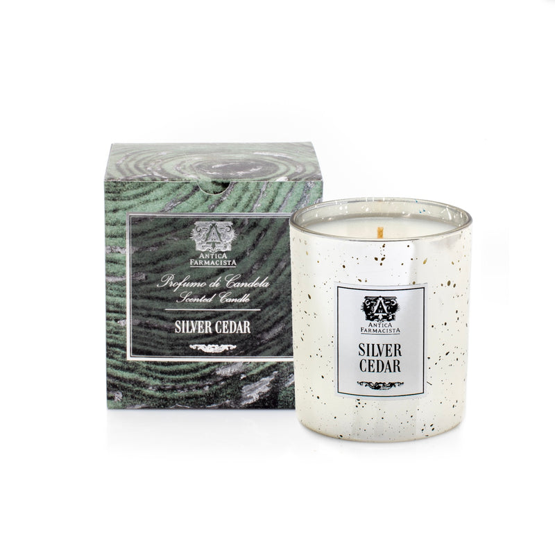 Antica Farmacista Silver Cedar Candle, AF-Antica Farmacista, Putti Fine Furnishings