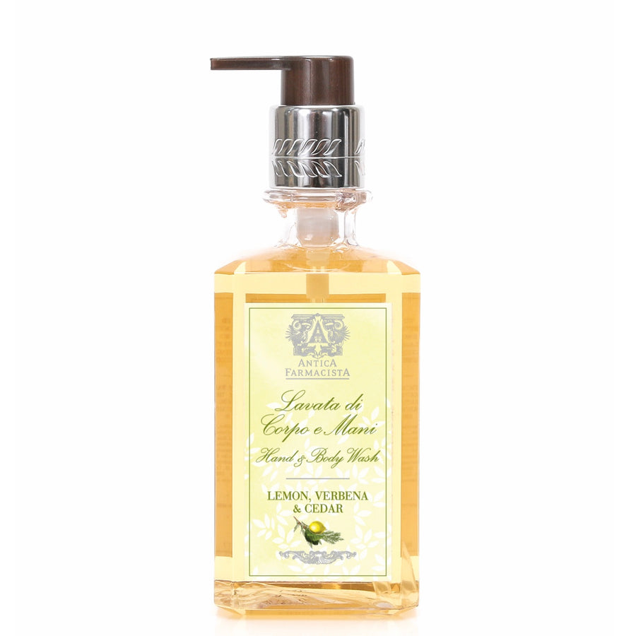 Antica Farmacista Hand & Body Wash - Lemon Verbena Cedar