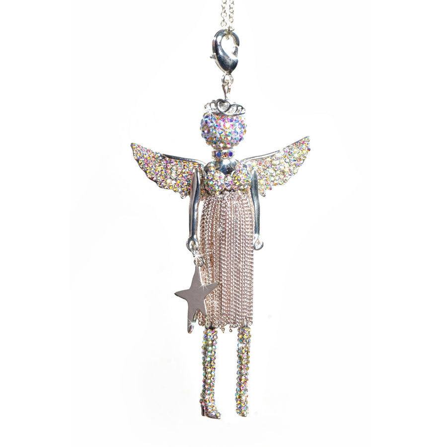 "Jacqueline Kent ""Christmas Love"" Angel - Silver"