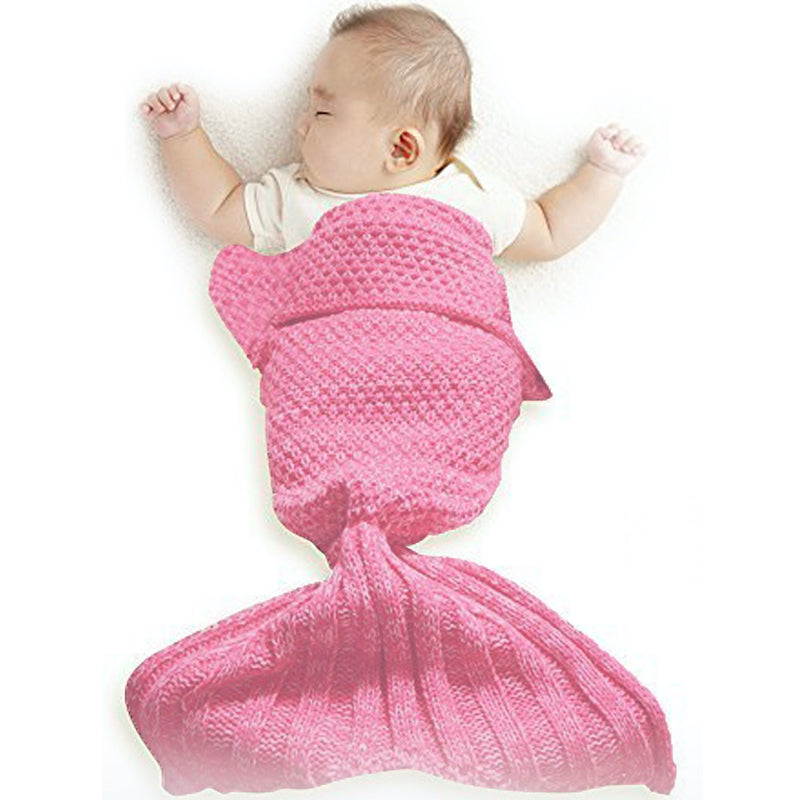 Mermaid Blanket Baby - Aqua, OCI-Oceanic Inc, Putti Fine Furnishings