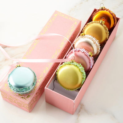Box of Macaroons Ornaments, KC-Katherine's Collection, Putti Fine Furnishings