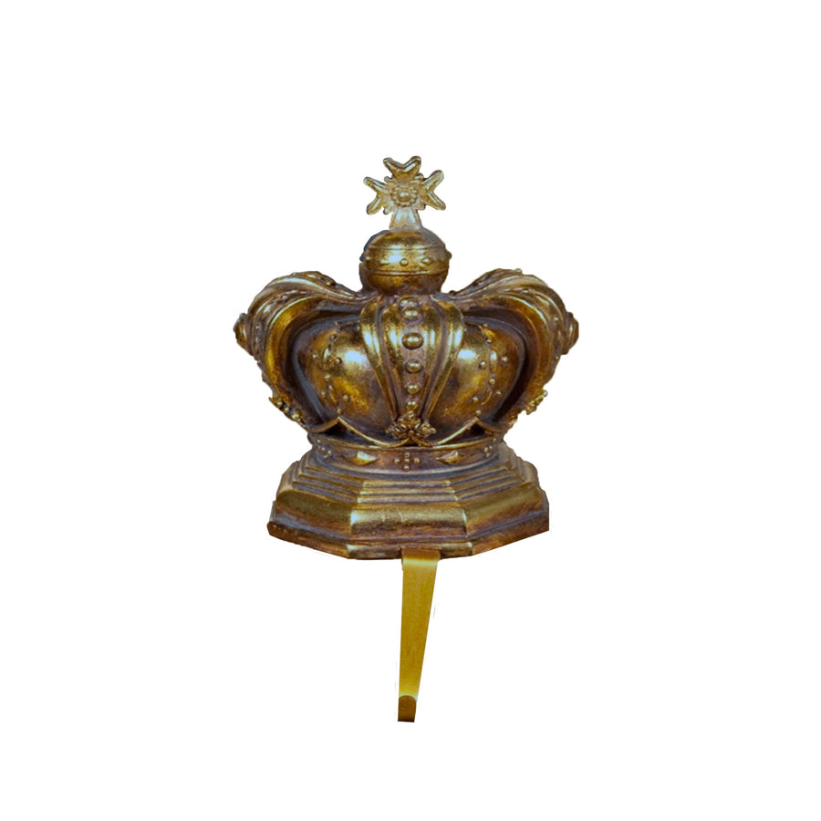 Gold Crown Stocking Holder