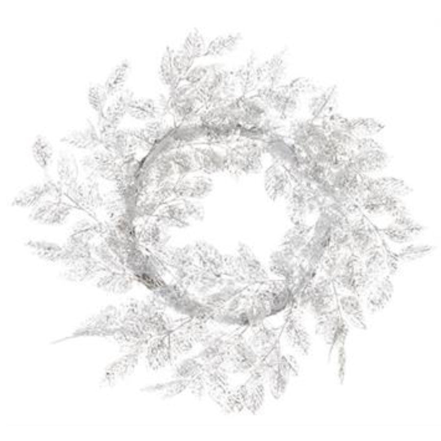 Sparkle Salal Leaf Wreath