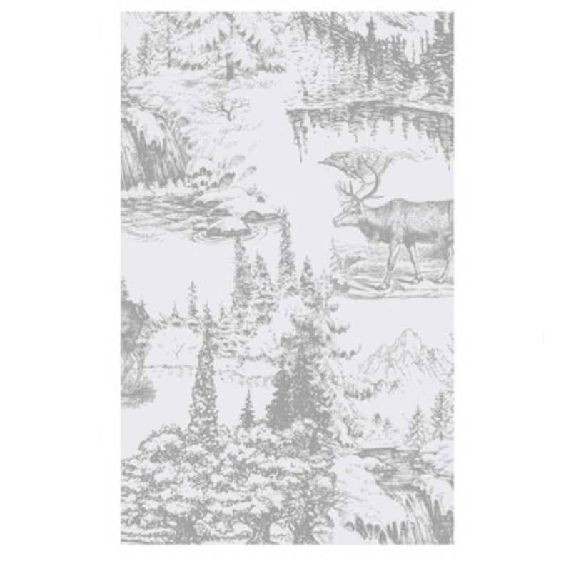 """Reindeer Toile"" Paper Napkin - Guest, Harman, Putti Fine Furnishings"