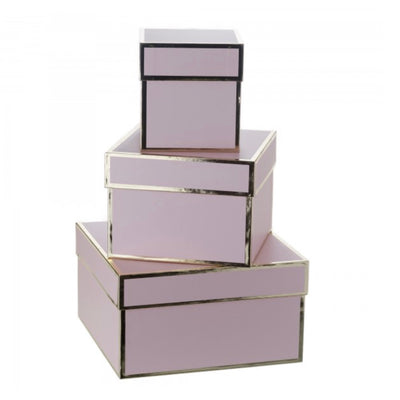 Pink and Gold Gift Boxes, CB-Creative Bag, Putti Fine Furnishings