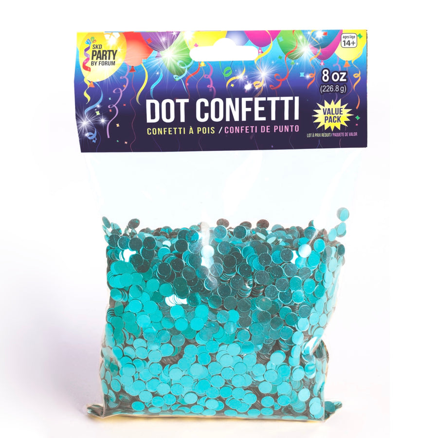 Metallic Teal Dot Confetti, SE-Surprize Enterprize, Putti Fine Furnishings