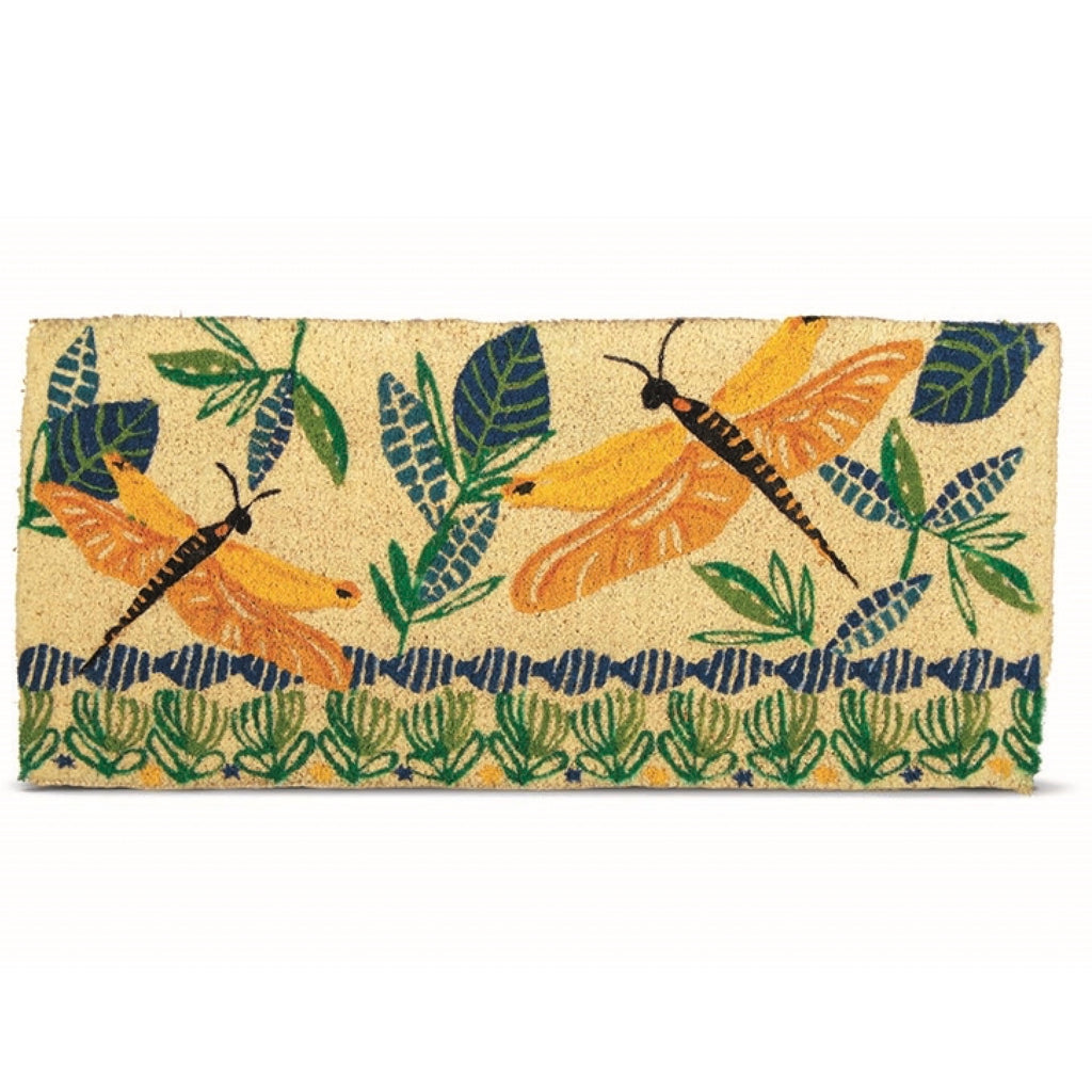 """Dragonfly"" Estate Coir Door Mat Doormats, TAG-Design Home Associates, Putti Fine Furnishings"