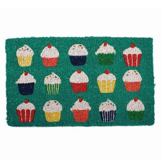 """Cupcake"" Door Mat, TAG-Design Home Associates, Putti Fine Furnishings"