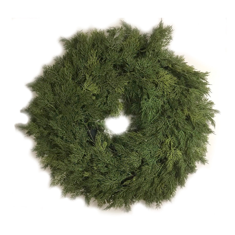 Large Cedar Wreath