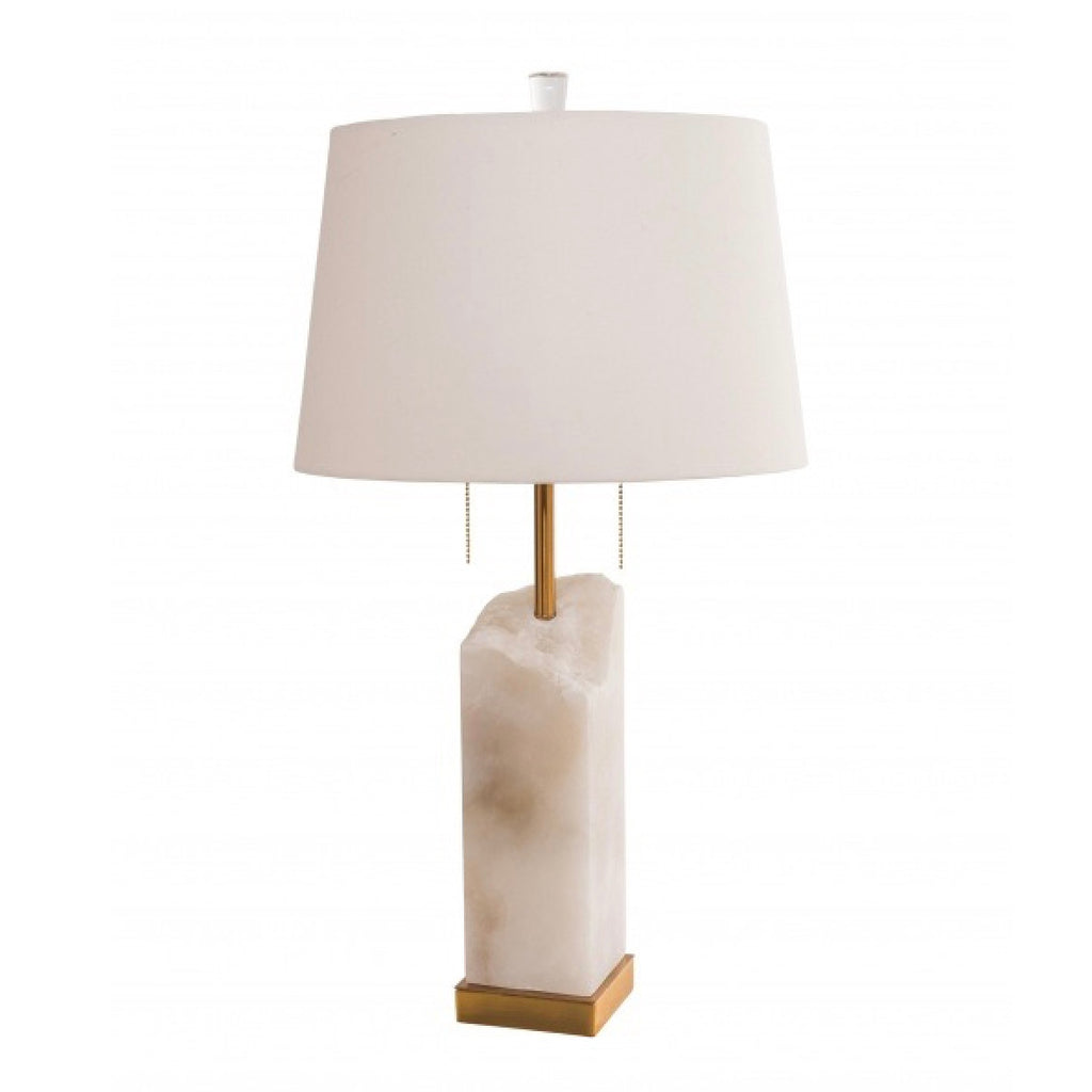 Alabaster table lamp putti fine furnishings canada white cracked marble table lamp bi bethel international putti fine furnishings mozeypictures Choice Image